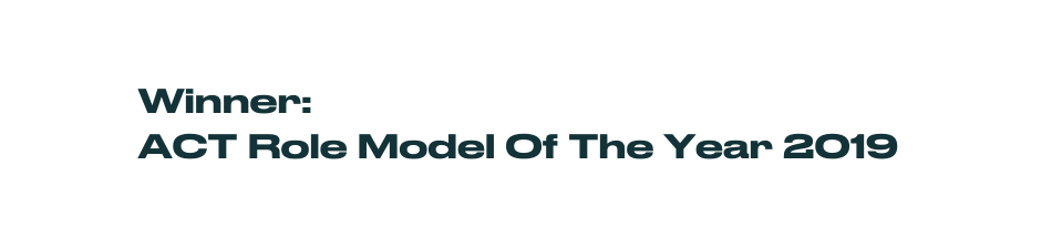 Winner ACT role mode of the year